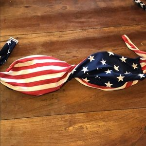 Other - American flag bandeau